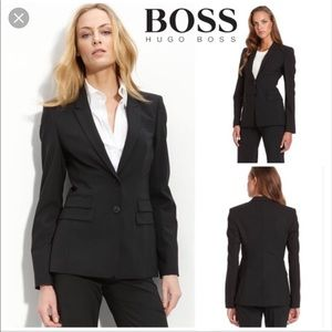 NEW Hugo Boss Brown Juicyra Blazer